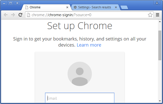 Chrome in KDE